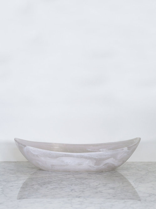 Large Cradle Bowl in Frost