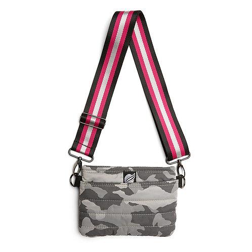 Bum Bag in Grey Camo