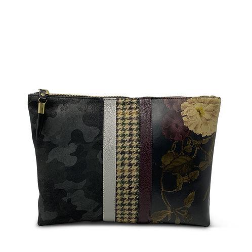 Medium Zip Clutch Bag by Kempton