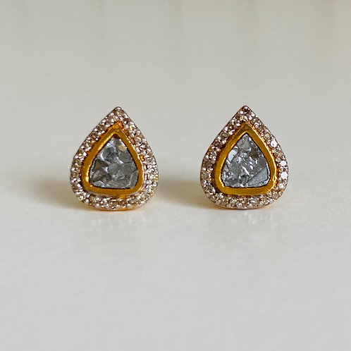 Harper Diamond Earrings by Shana Gulati