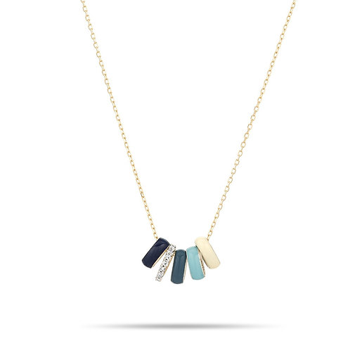 Pool Party Necklace by Adina Reyter