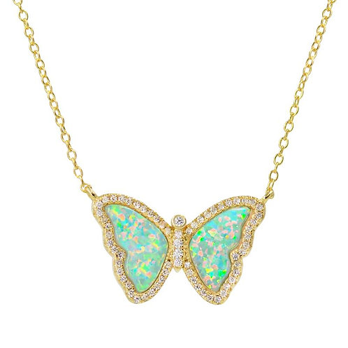 Mini Butterfly Necklace