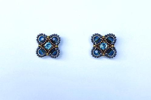 Swarovski Crystal Studs by Miguel Ases