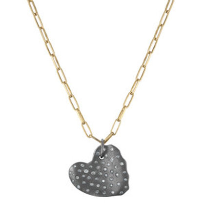 Diamond Heart Pendant by Nathan & Moe