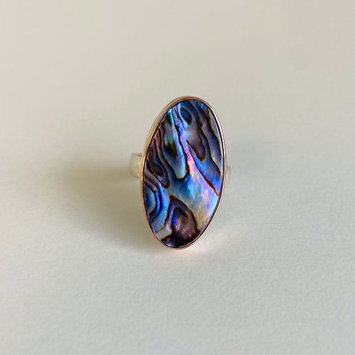 Abalone Ring by Jamie Joseph