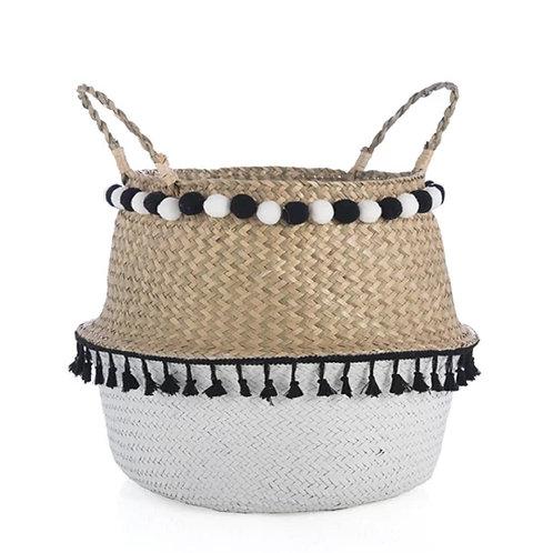 Large Laramie Basket, Natural