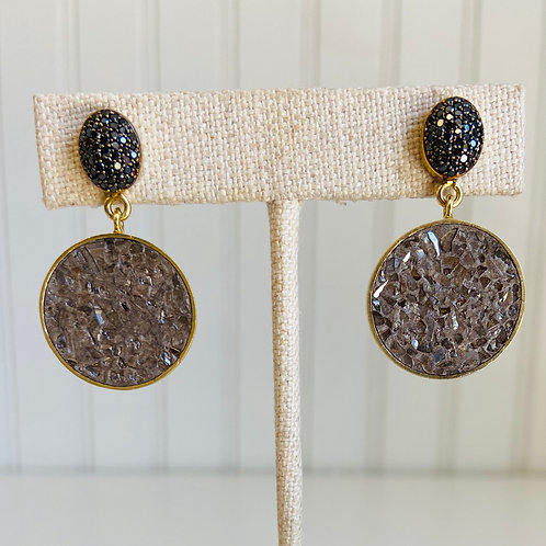 Shoal Diamond Earrings by Shana Gulati