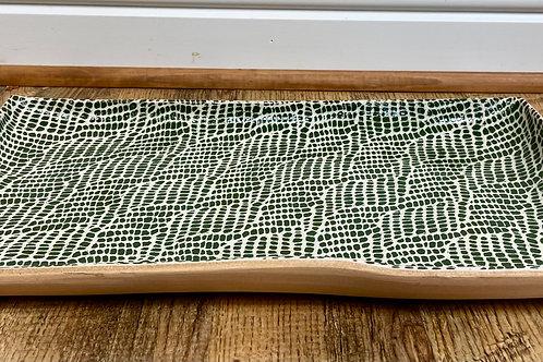 Medium Stacking Rectangle Tray by Terrafirma