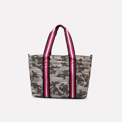 Wingman Bag in Grey Camo Jacquard