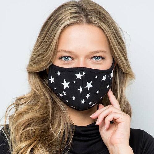 Star Fabric Face Mask