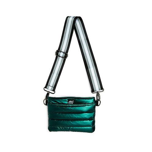 Bum Bag/Crossbody in Pearl Emerald by Think Royln