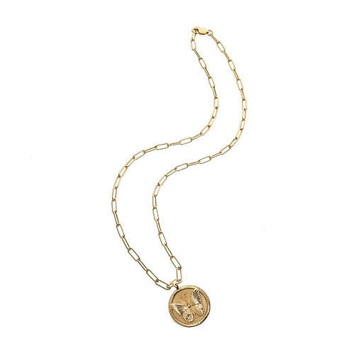 Free Small Coin Pendant Necklace