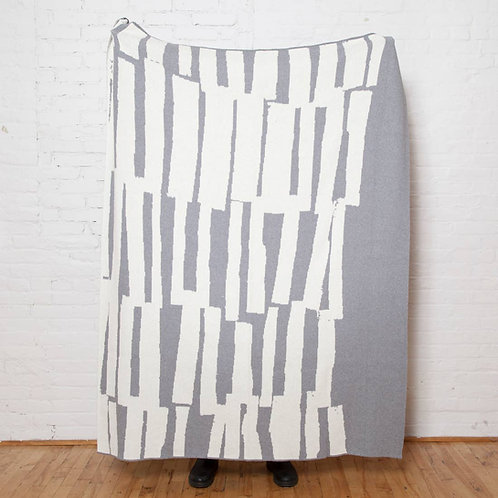 Eco Scout Throw Blanket in Grey