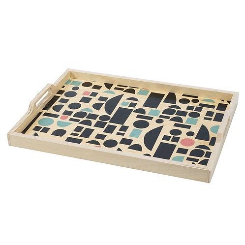 Blocks Large Serving Tray by Wolfum Studio