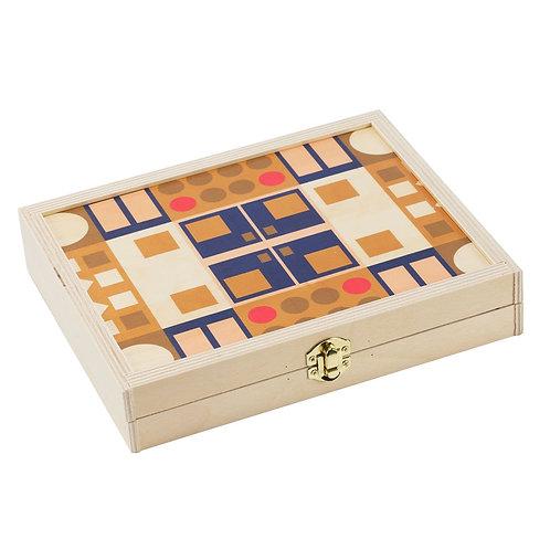 Alexander Olive Travel Backgammon