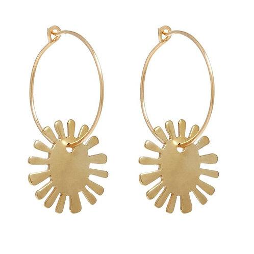 Big Sun Earrings by Marisa Mason