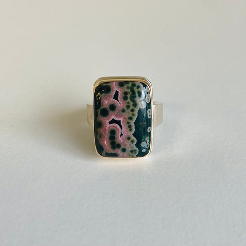 Ocean Jasper Ring by Jamie Joseph