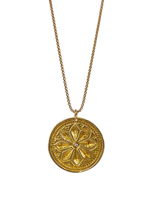 "Lotus Necklace ""Bloom in Unlikely Places"" by Lulu Designs"
