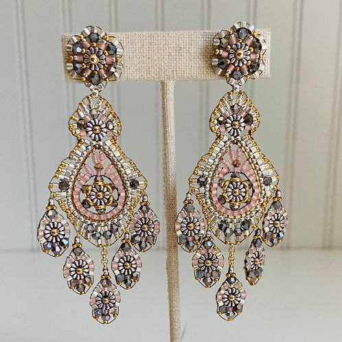 Hand Woven Earrings by Miguel Ases