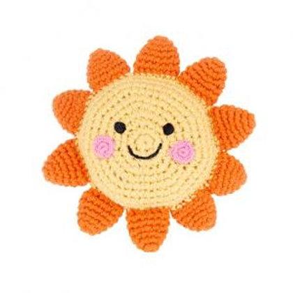Crocheted Sun Rattle
