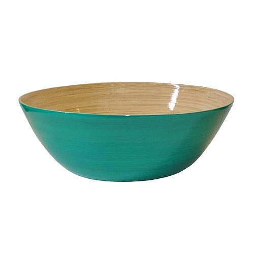 Large Shallow Bamboo Bowl