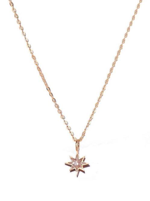 18k Gold Vermeil & Diamond Nash Pendant by Shana Gulati