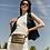 Thumbnail: Bum Bag/Crossbody in Pearl Pyrite by Think Royln