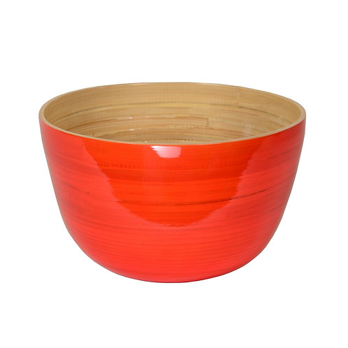 Large Tall Bamboo Bowl