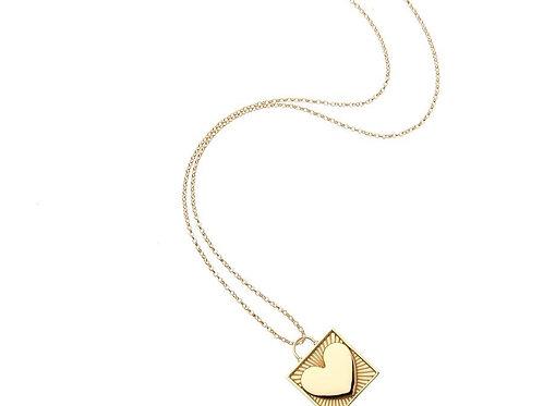 Love Locked Pendant by Jane Win