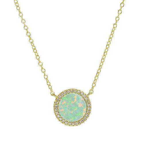 Beacon Circle Necklace