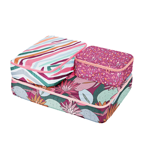 Radiance Set of Packing Cubes