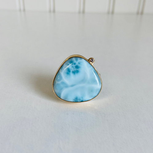 Larimar Ring by Jamie Joseph