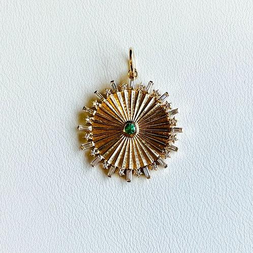 Diamond Stardust Medallion