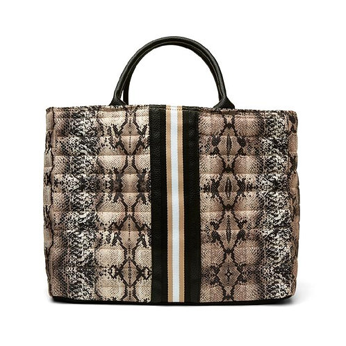 Python Parisian Tote by Think Rolyn