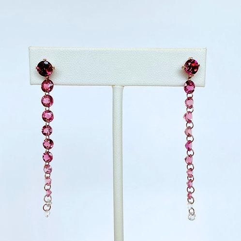 14k Rose Gold Drop Earrings by Sophia by Design