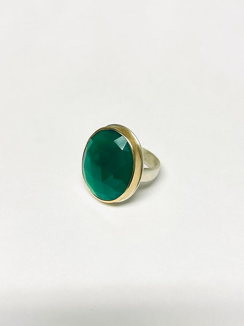 Green Onyx Ring by Jamie Joseph