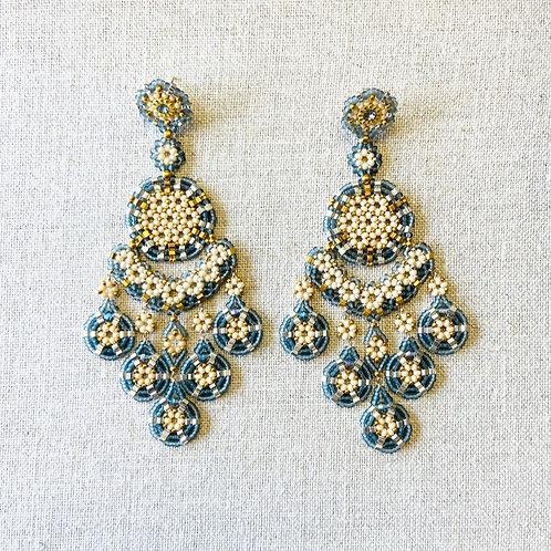 Swarovski Crystal Earrings by Miguel Ases