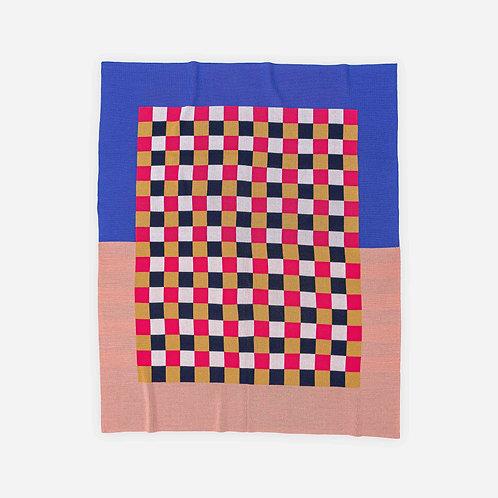 Gingham Checkerboard Throw by Verloop