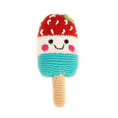 Crocheted Popsicle Rattle