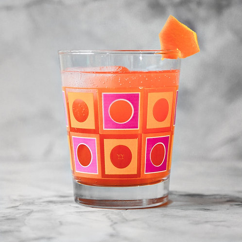 Square Peg Double Old Fashioned Glasses