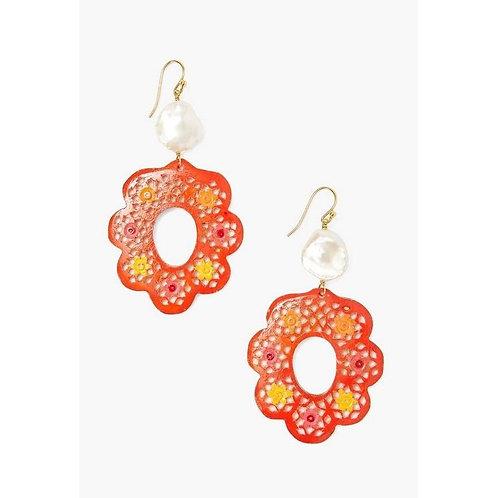 Flower Earrings by Chan Luu