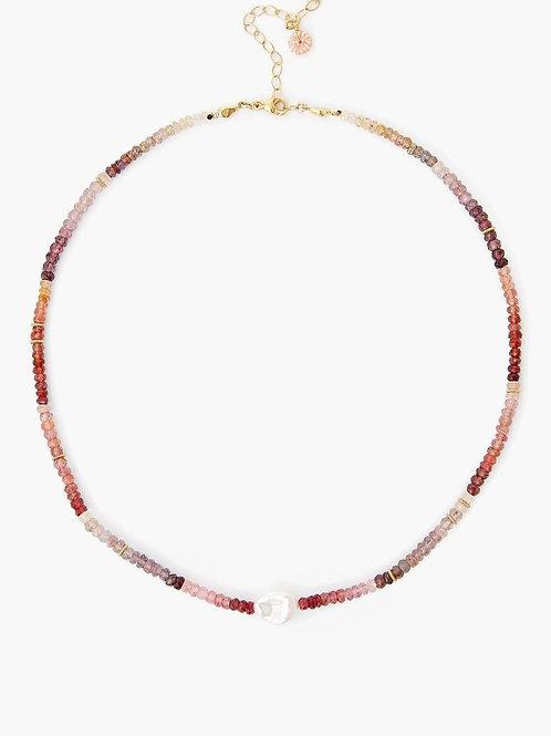 Pink Santi Necklace by Chan Luu