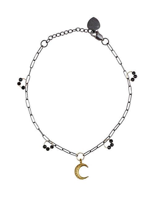 Ila Bracelet - Artemis with Blue Sapphire by Lulu Designs