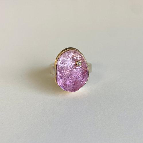 Kunzite Ring by Jamie Joseph