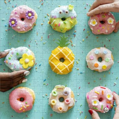 250 Pieces Donut Wooden Puzzle