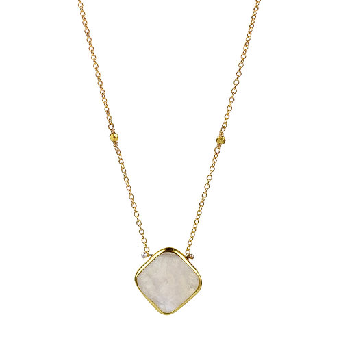 Lucia Necklace with Moonstone by Lulu Designs
