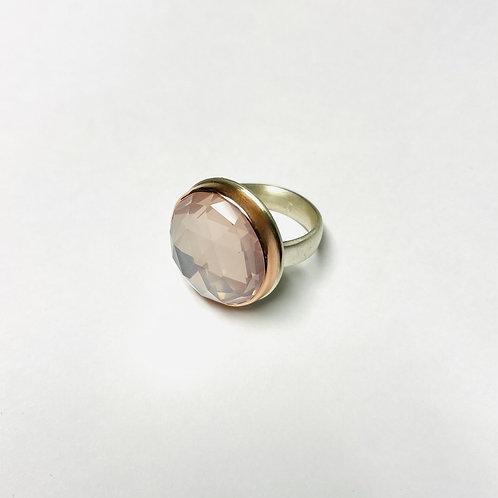 Rose Quartz Ring by Jamie Joseph