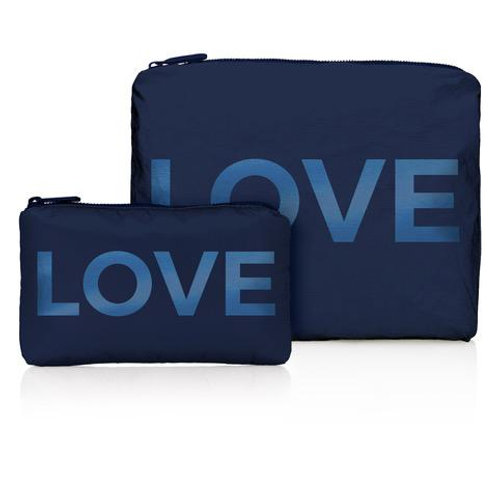 Set of Two Travel Packs in Navy