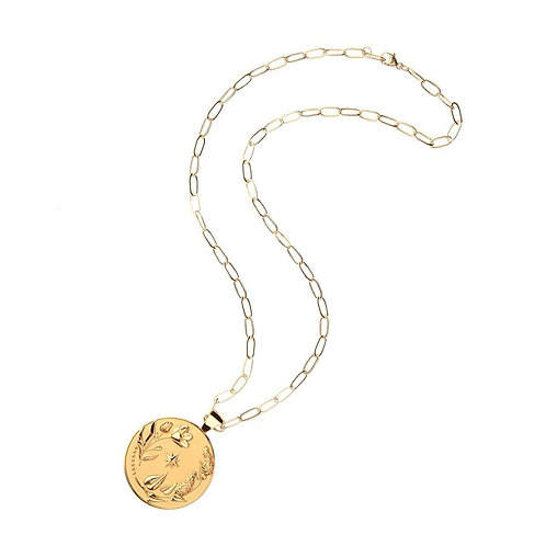 Vitality Original Pendant Coin by Jane Winchester