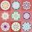 Thumbnail: 250 Piece Wooden Puzzle: 9 Mandalas